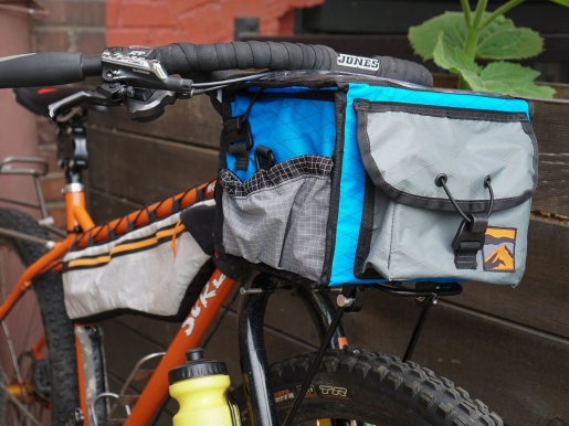 Front View of Rando Bag on Surly Troll